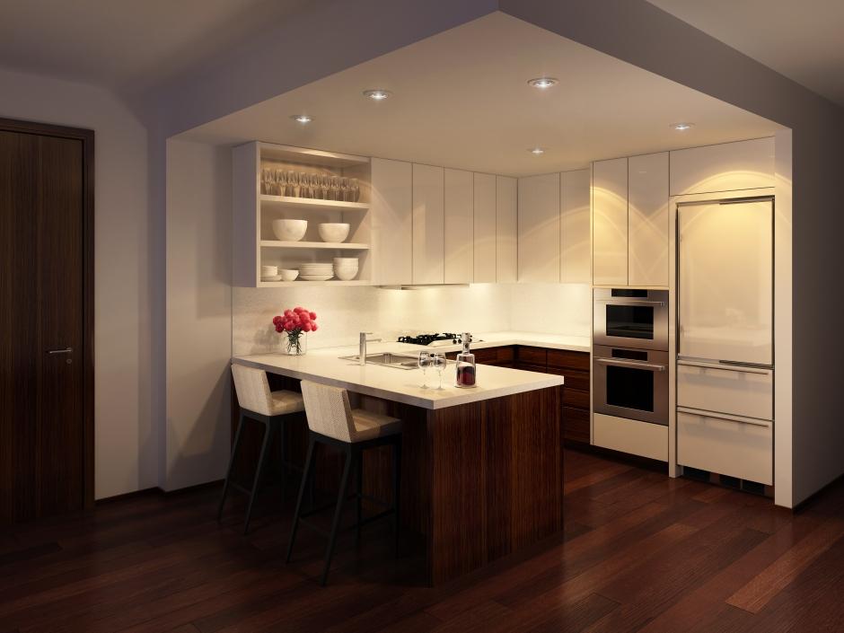 Wood Kitchen Dark